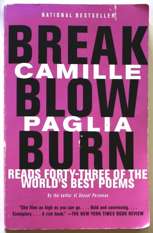 Break, Blow, Burn. Cover